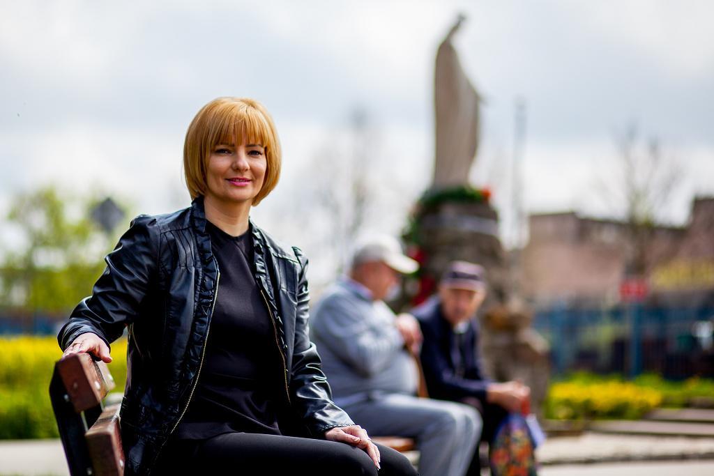 Burmistrz Stąporkowa Dorota Łukomska