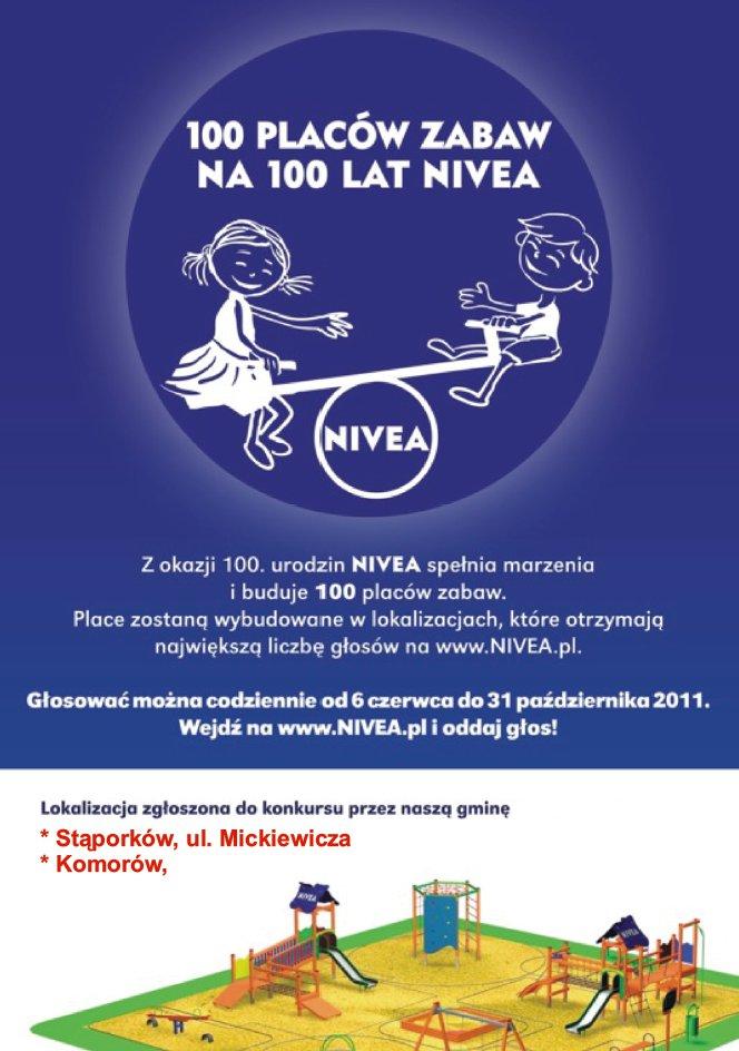 Konkurs Nivea